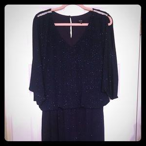 MSK navy sparkle dress size 12